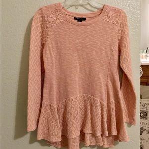 Style & Co. crochet tunic